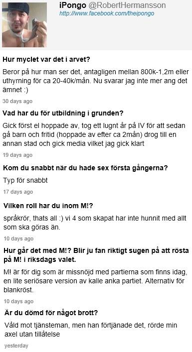 Robert Hermansson Ask.FM